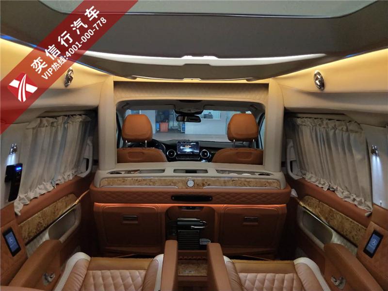 海南 琼海 文昌 奔驰V级商务车 V260房车特价促销