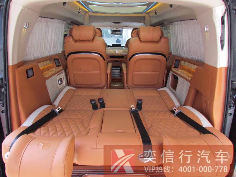 广东 湛江 茂名 奔驰V级升级改装车 V260房车报价 图片展示