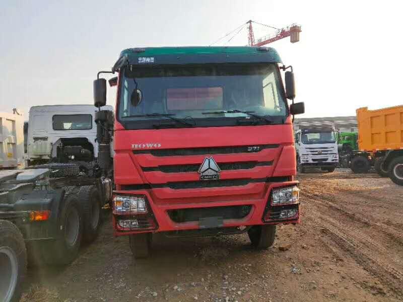 豪沃5.6米自卸车国二标准