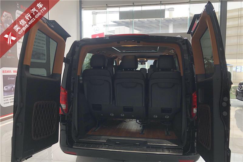 河南洛陽 信陽 奔馳V250進口V級7座房車價格 高檔商務車工廠直營優惠報價