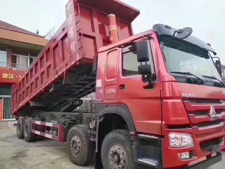 豪沃自卸車380馬力8.5米