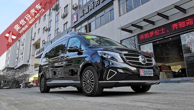 安徽阜陽 蚌埠高檔商務車奔馳V級改裝商務車廠價直銷,優惠報價