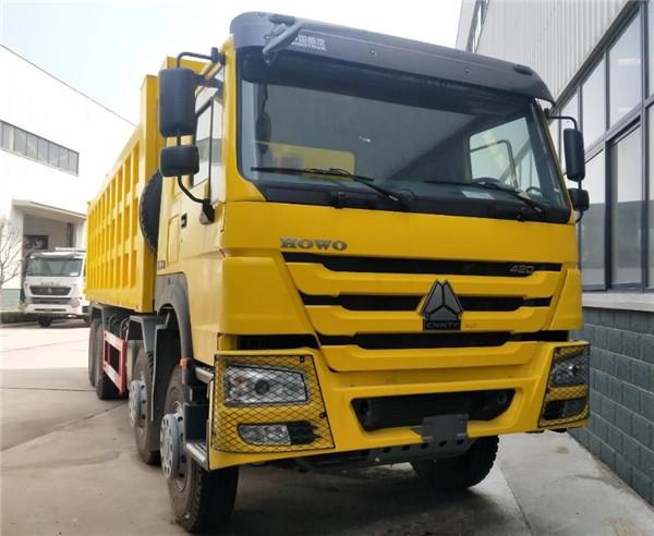 420馬力豪沃7.8米車廂自卸車