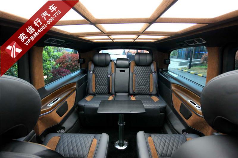 許昌 漯河 奔馳V250進口V級7座房車價格 奔馳改裝房車工廠直營促銷