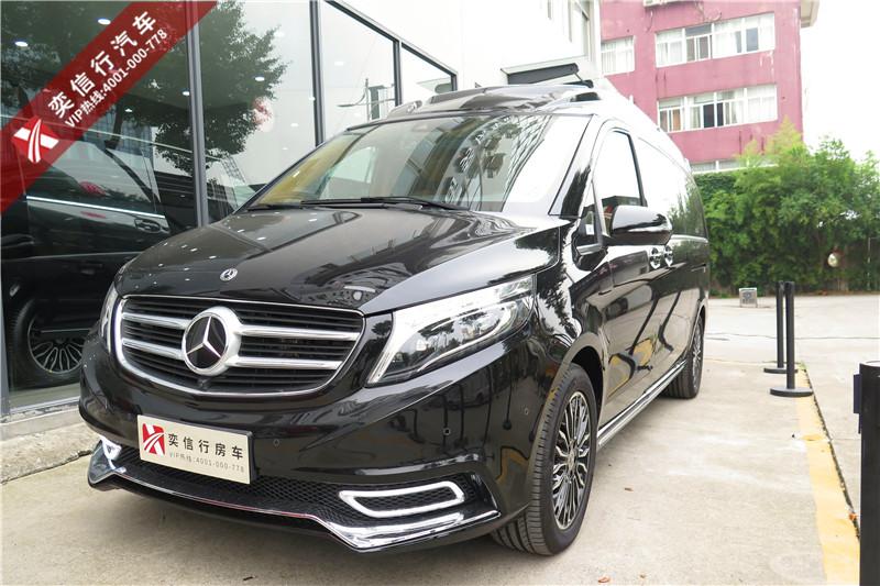 陜西漢中 安康頂級商務MPV 鉑馳房車 V級改裝房車報價優惠