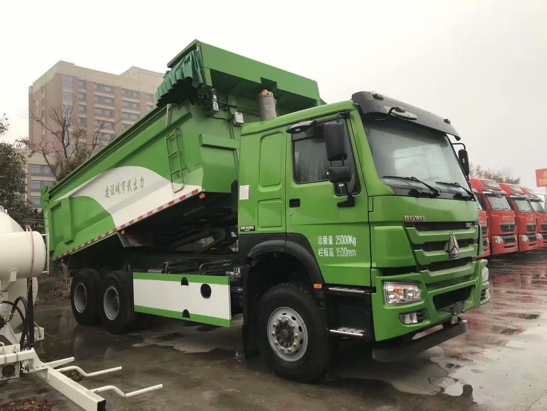 重汽豪沃5.6自卸渣土车