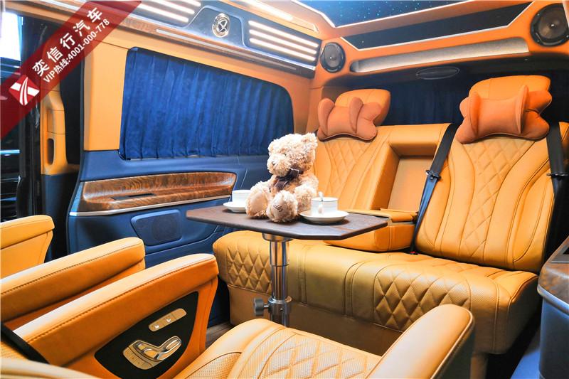 甘肅酒泉 張掖 高端商務車奔馳V級改裝房車哪里賣?報價多少?