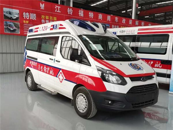 福特救護車—福特負壓救護車廠家—福特航空艙負壓救護車價格
