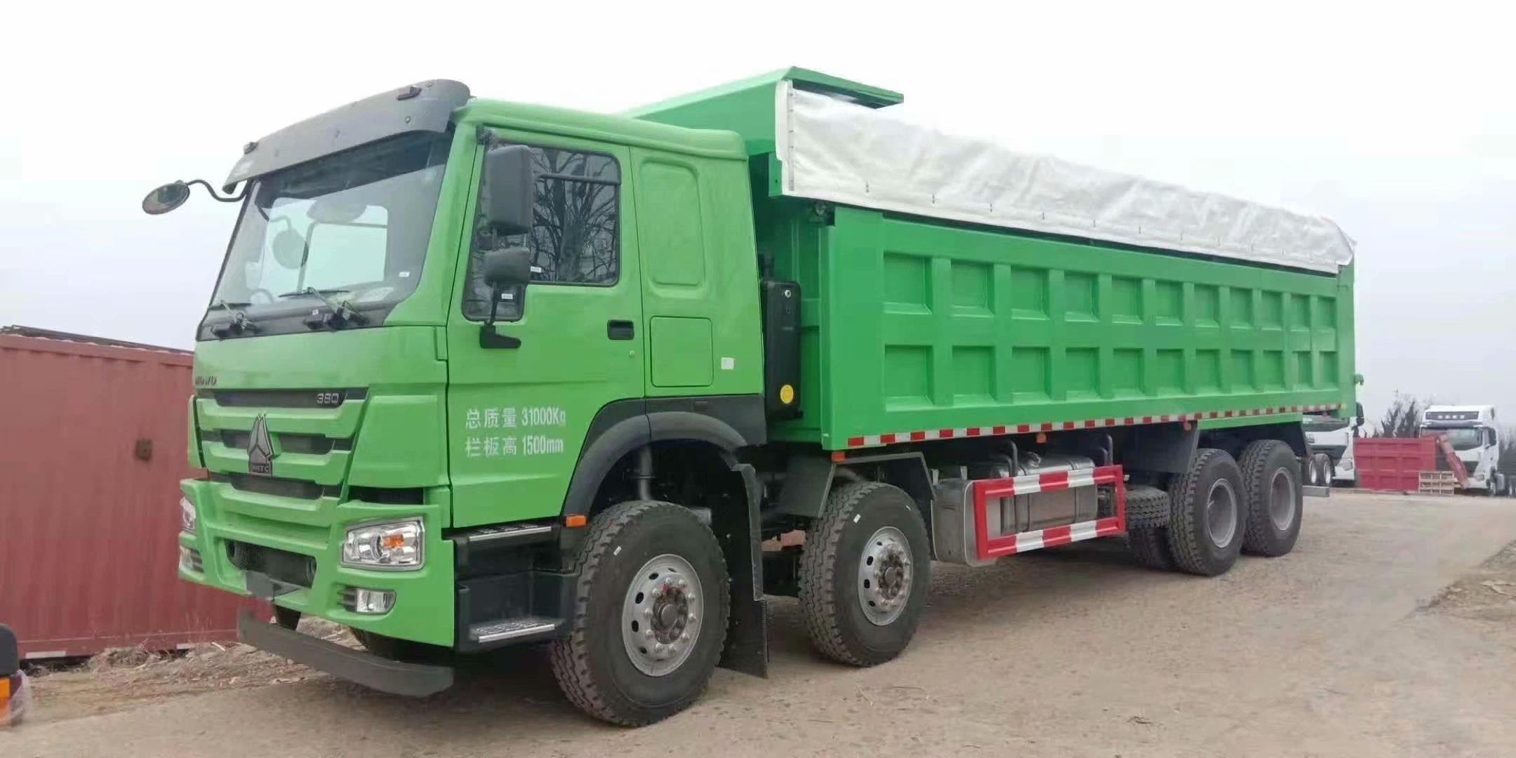 HOWO綠色 380馬力 7.8米帶篷布