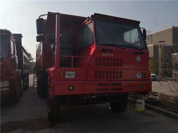 重汽豪沃70礦霸自卸車6x4驅動