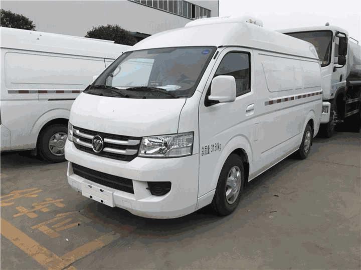国六福田G7面包冷藏车价格--2吨冷藏车报价--国六冷藏车--资料---图片
