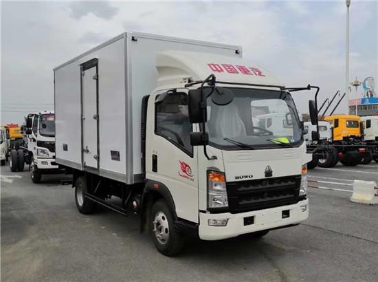 國六重汽豪沃4米2冷藏車報價_豪沃國六4.2米冷藏車廠家_價格_配置_圖片