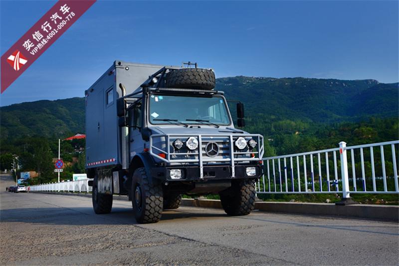 奔驰越野房车乌尼莫克全地形卡车,十足感叹气质,现在接受预订啦。