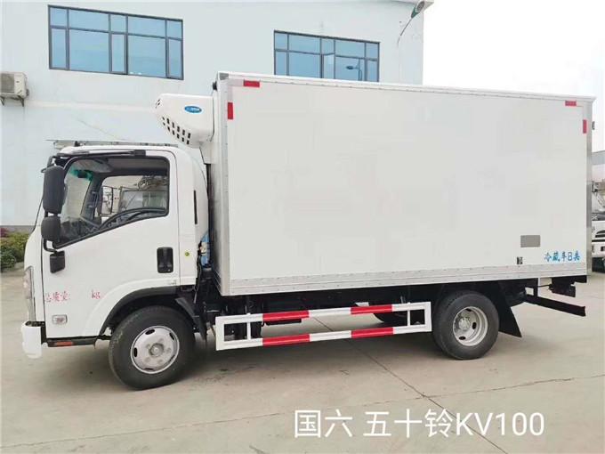 2020新款國六五十鈴KV100冷藏車參數-配置-支持全國分期付款