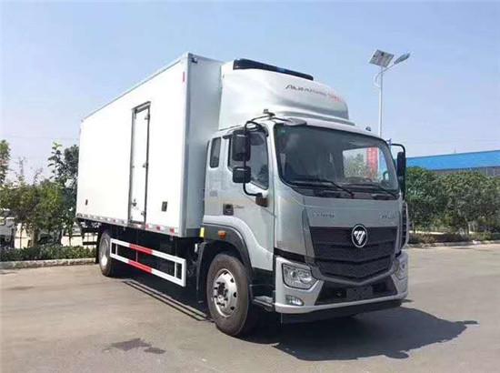 國六福田歐馬可6米8冷藏車_S5歐馬可10噸冷藏車廠家_價格_配置_圖片