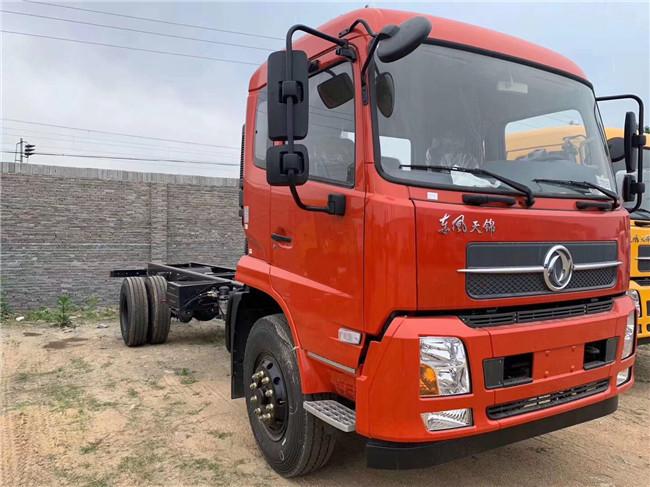 210馬力:東風天錦隨車吊_8噸東風天錦牌DFH5180JSQBX5型隨車起重運輸車