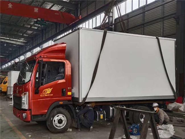 4.2米冷藏車重汽豪沃價格 國六藍牌冷藏車多少錢