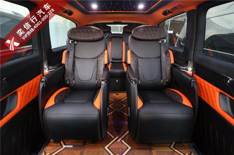 咸寧 鄂州進口奔馳商務車V250新款內飾改裝房車圖片及優惠報價