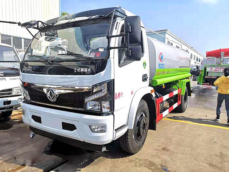 国六东风福瑞卡10吨洒水车厂家报价