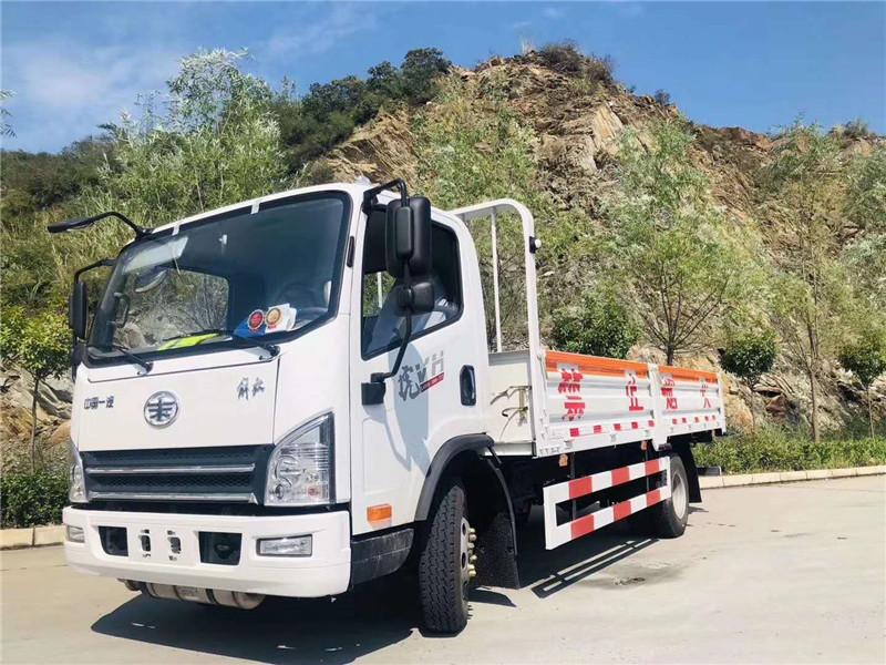 解放5米2氣瓶運輸車價格-解放5米2液化氣瓶運輸車價格