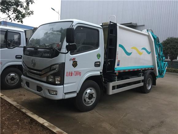 國六東風多利卡5方壓縮垃圾車廠家促銷