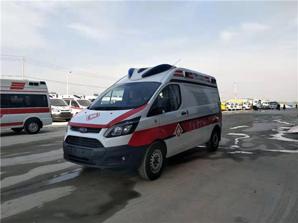 福特救護車廠家生產的福特120救護車是自動擋的救護車嗎?國六福特全順救護車價格?