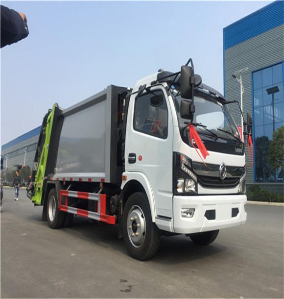 东风国六8方压缩垃圾车厂家促销价格优惠到底