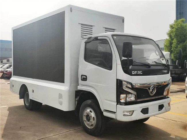 程力廣告車生產廠家生產一臺國六東風福瑞卡廣告宣傳車