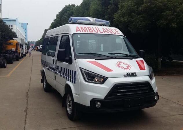 江铃特顺短轴监护型救护车价格多少钱一辆