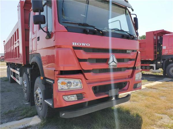 豪沃8.8米自卸車廠家直銷