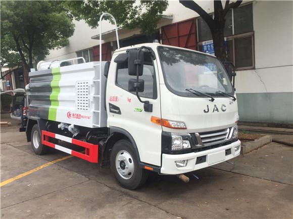 国六蓝牌江淮骏铃5方抑尘车新品上市配置全新升级