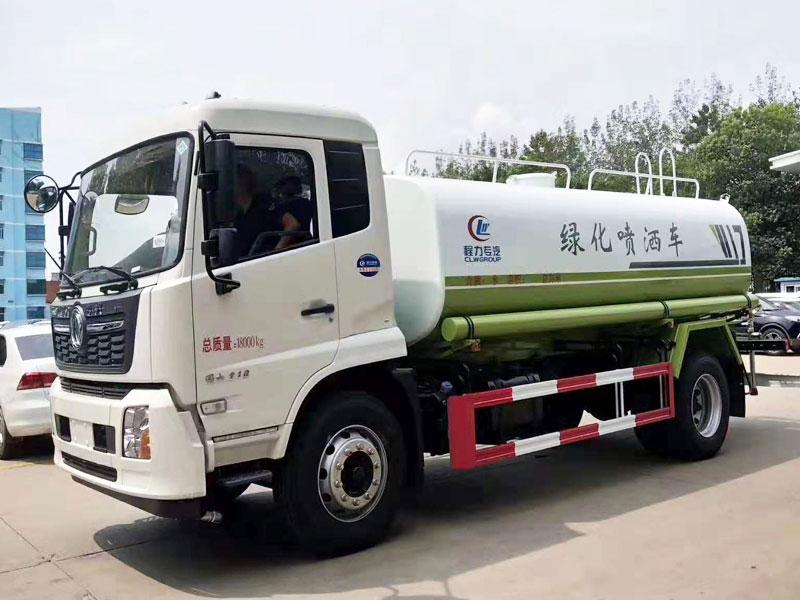 国六东风天锦12吨洒水车价格