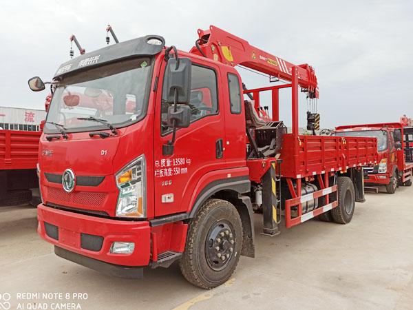东风畅行D1L三一8吨随车吊厂家 价格