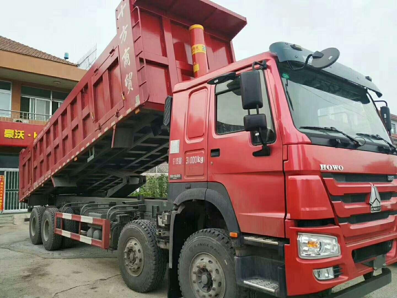 重汽豪沃8米5自卸车有活版加高