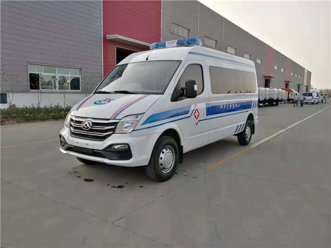 武汉市江岸区疾控中心定购上汽大通救护车国六排放急救车