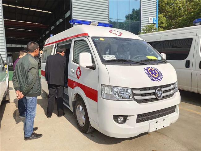 广西桂林医疗救护车租赁公司采购国六福田G7救护车转运型急救车
