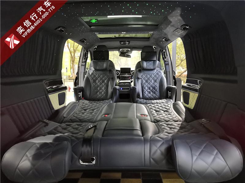 山东东营 广饶县七座商务车奔驰v260MPV改装房车优惠报价多少钱