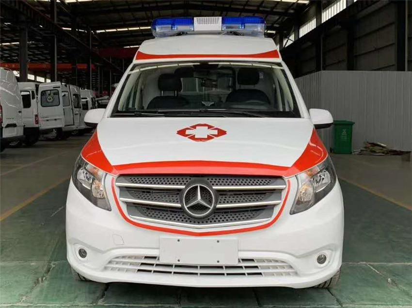 內蒙科爾沁人民醫院采購一臺奔馳雙負壓救護車