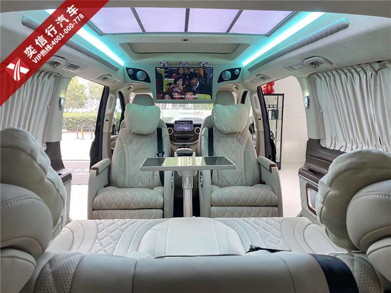 新疆 库尔勒市 7座商务车改装 奔驰v260内饰外观定制多少钱?