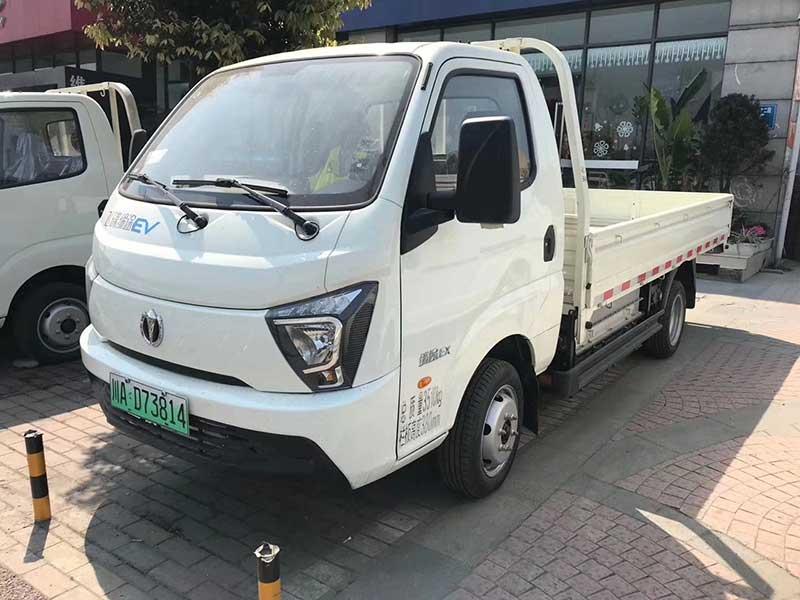成都新能源廂式貨車租售_成都純電動微型貨車價格_新能源小面包車