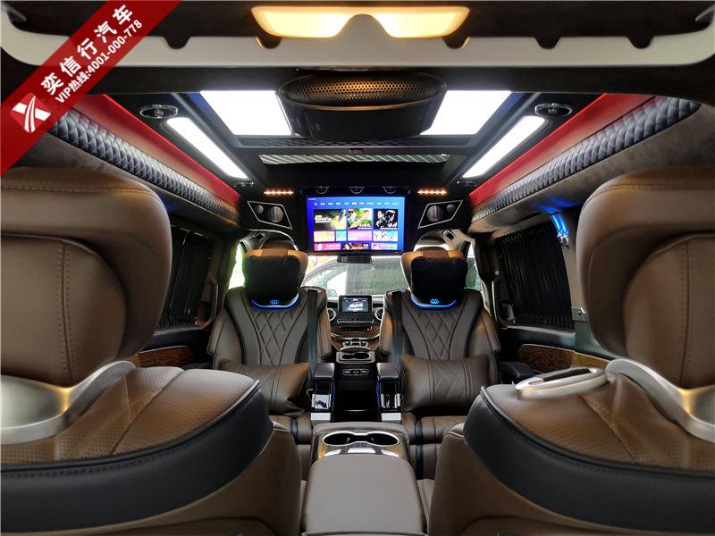 安徽 合肥 肥西縣 奔馳V260改裝商務車新款優惠價格