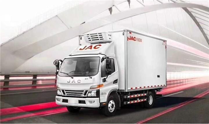 国六江淮骏铃V6冷藏车价格-蓝牌5吨冷藏车多少钱-150马力冷藏车参数-冷藏车最新图片