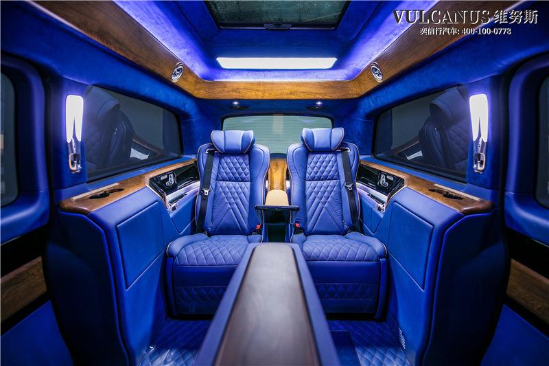 內蒙古 鄂爾多斯市東勝區 奔馳V級改裝4座商務車 鉑馳品牌維努斯豪華版價格