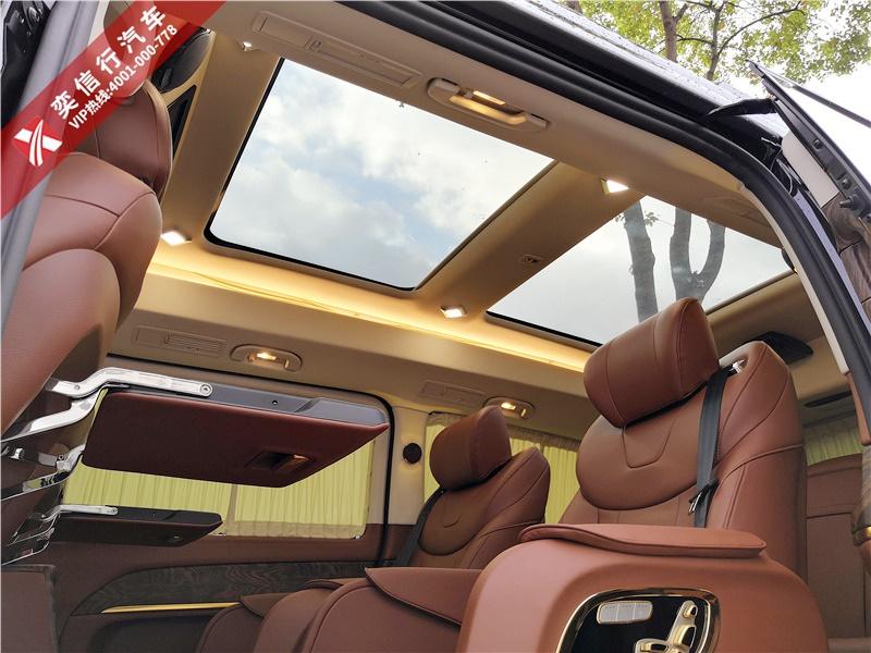 奔馳V級商務車7座V260房車改裝房車在線買車送車到家