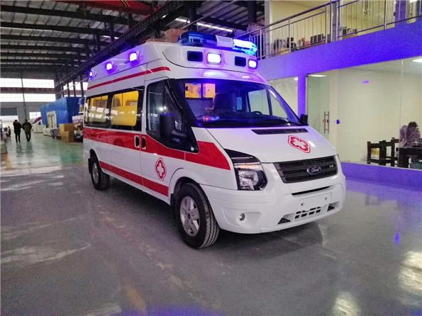 國六福特v348救護車_價格_參數配置_內飾圖片_生產廠家