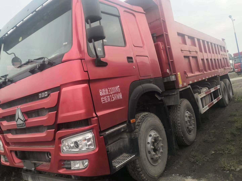 现车:8台豪沃国五8米自卸,D10.38-50发动机;