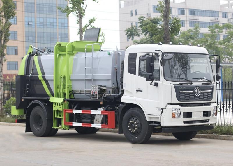 东风天锦国六10立方餐厨垃圾车价格及详图展示