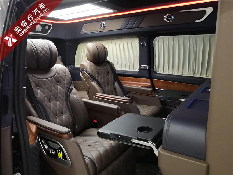 宁波 商务车专营,奔驰V260高端改装定制普曼版 7座商务房车标杆车型 秒杀丰田埃尔法