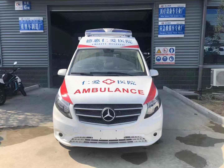 國六奔馳威霆救護車——高資質救護車生產廠家