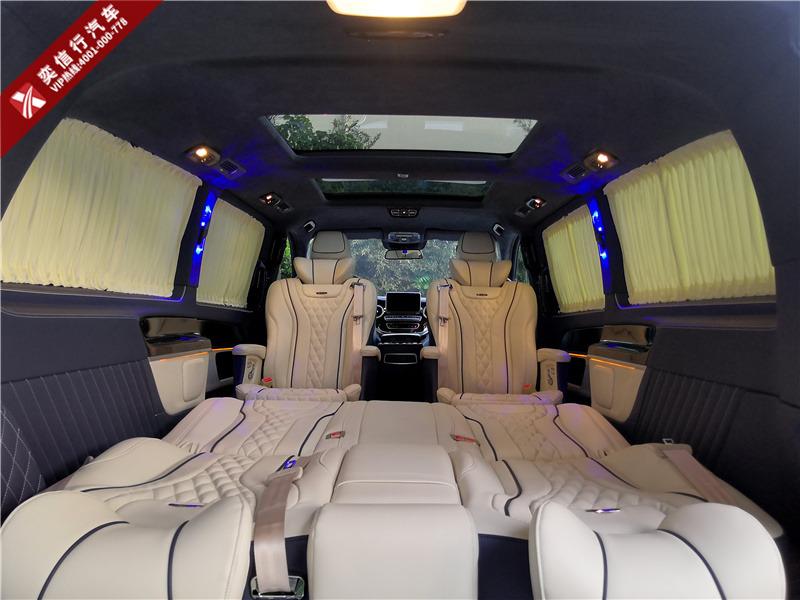 湖州 德清縣奔馳V260房車定制改裝多少錢,改裝圖片展示